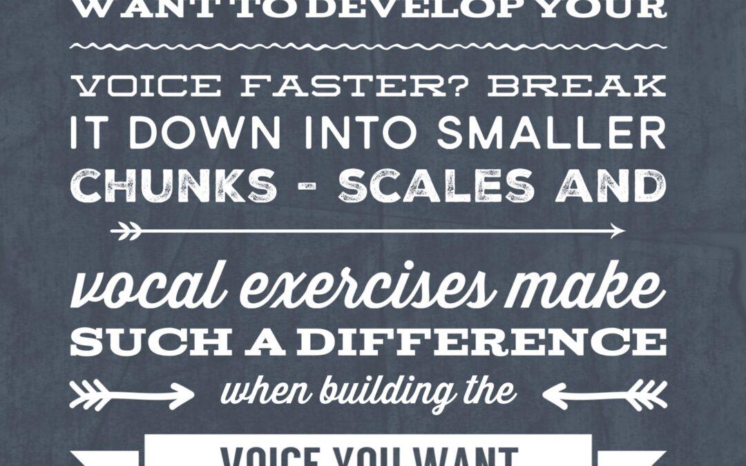 #VocalTipsTuesday – Break It Down